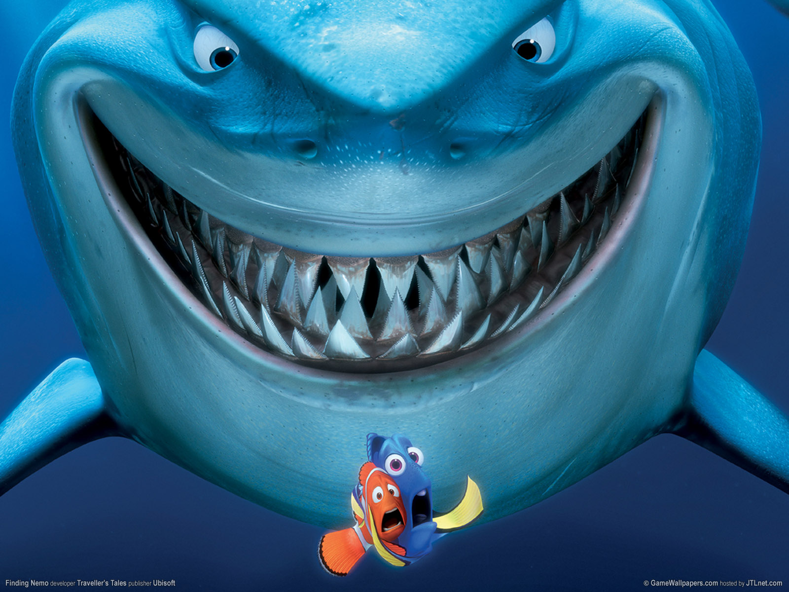 Finding Nemo Great White Shark